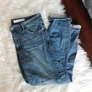 Anthropologie Slim Boyfriend Jeans Pilcro And The-